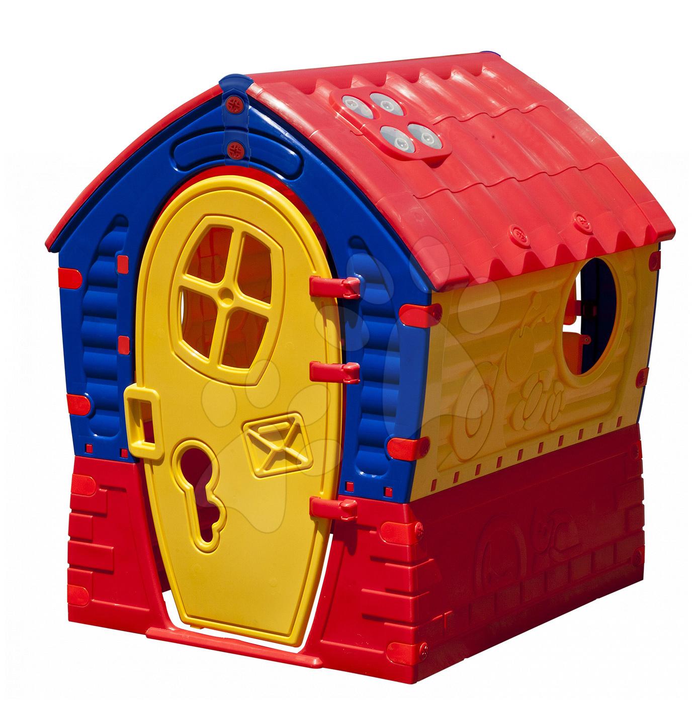 Domček Fairies Dream House PalPlay červeno-žltý od 24 mes