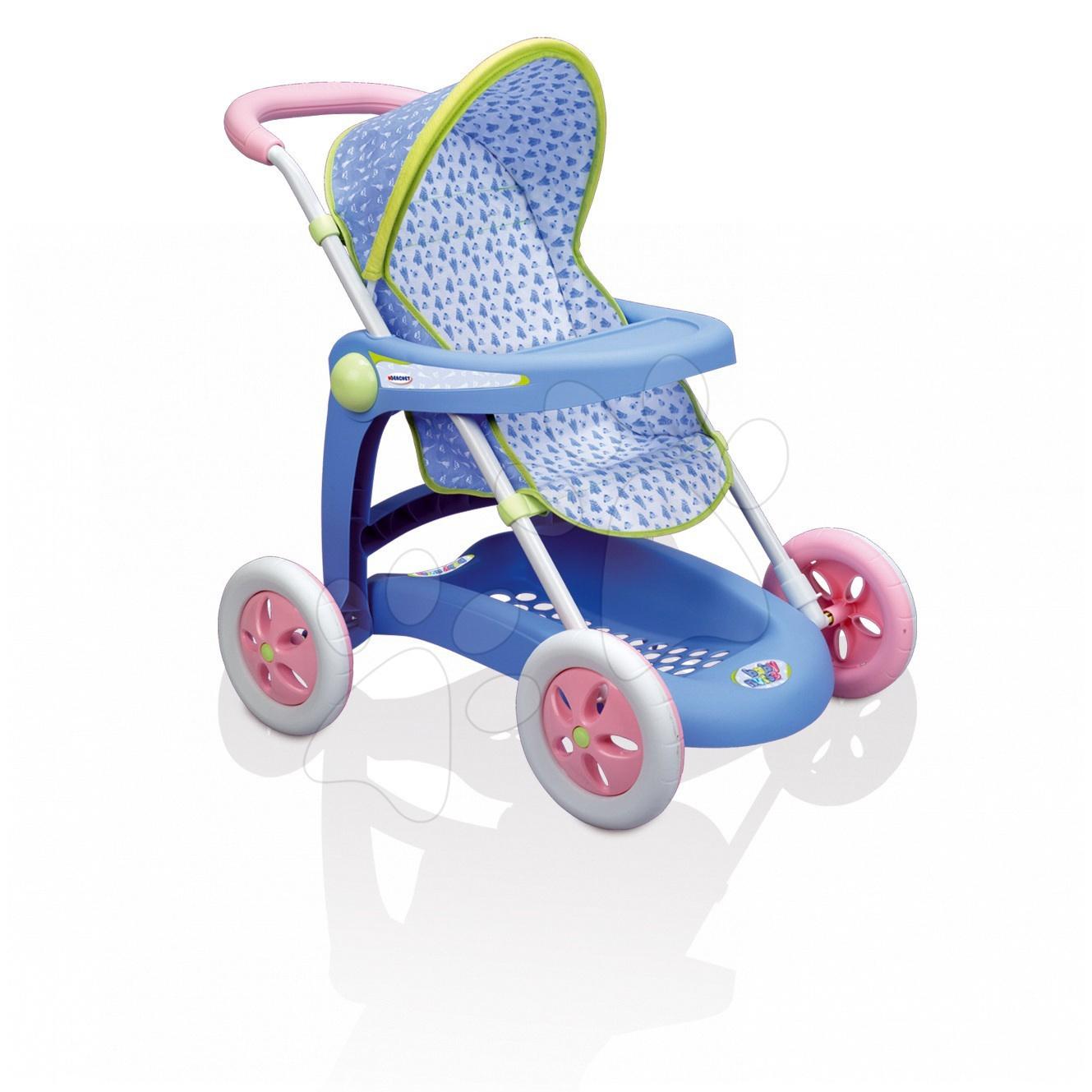 Cărucior pentru păpuşă de jucărie Baby Nurse Smoby sport (63 cm mâner de împins)