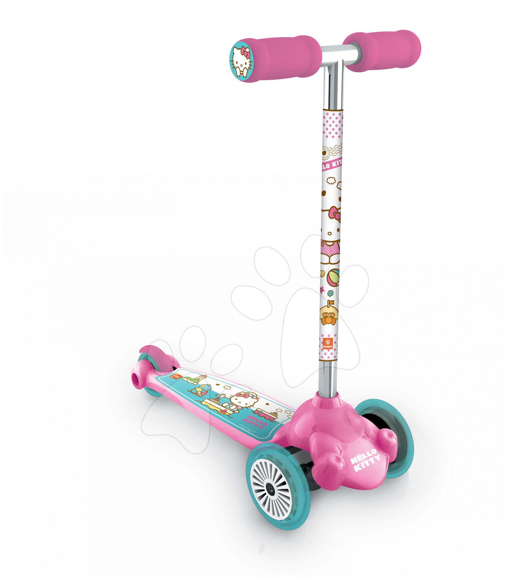 Kolobežka Hello Kitty Scooter Twist & Roll Mondo otočná