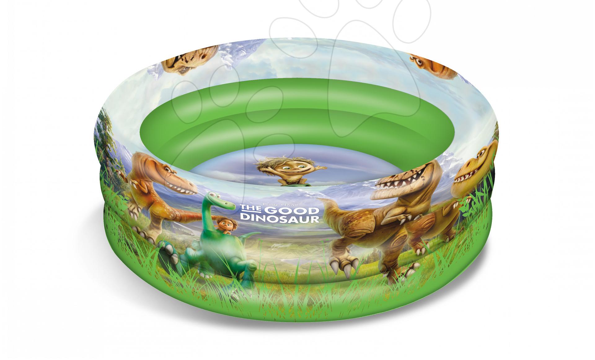 Nafukovací bazén Dobrý Dinosaurus Mondo tříkomorový 100 cm od 10 měsíců