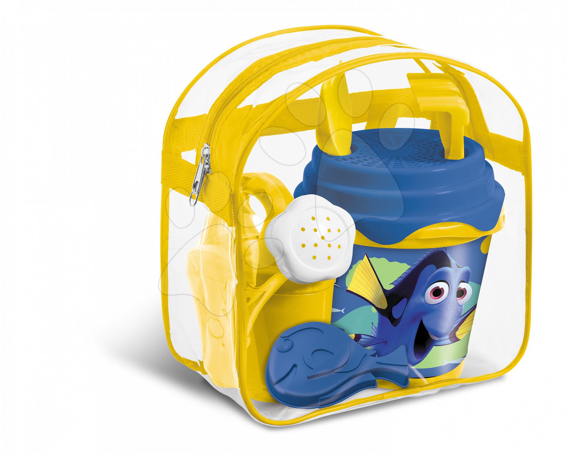 Batoh s kbelík setem Hledá se Dory Mondo (výška kbelíku 14 cm) od 18 měsíců