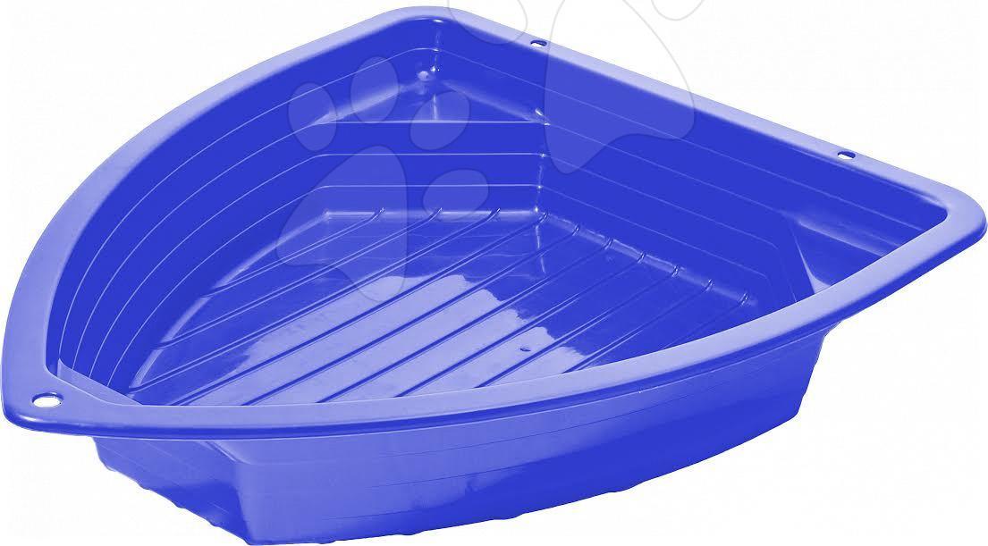 Pieskoviská pre deti - Pieskovisko Loďka Starplast objem 130 litrov modré od 24 mes
