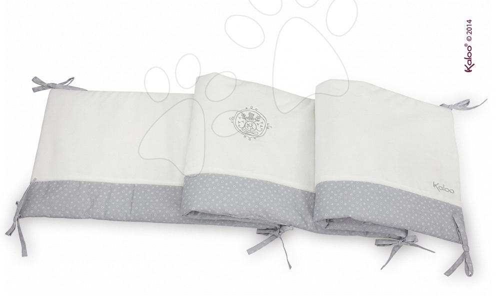 Detské deky - Hniezdo do postieľky Perle-Reversible Bed Bumper Kaloo od 0 mesiacov
