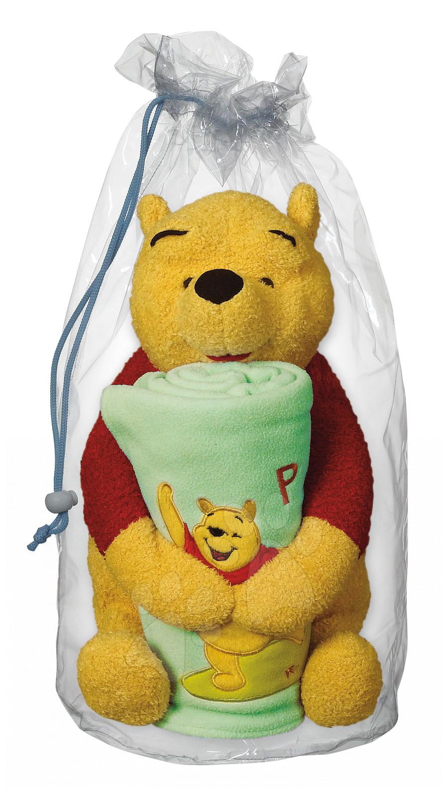 Macko Pooh and Blanket Ilanit 100*70 cm