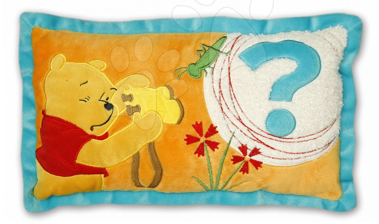 Perne de pluș - Pernă mică WD Winnie The Pooh Ilanit galben