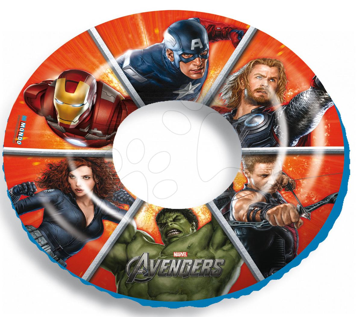 Nafukovacie kolesá - Nafukovacie koleso na plávanie Avengers Mondo 50 cm od 10 mes