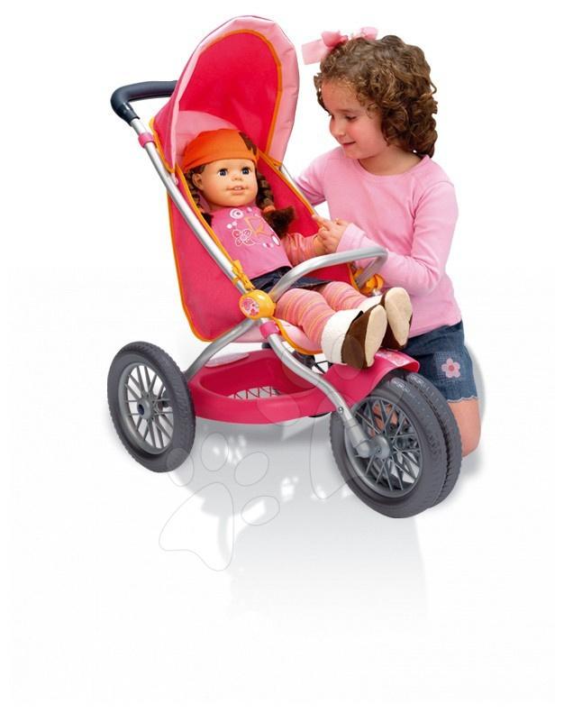 Športový kočík pre bábiku Smoby Roxanne