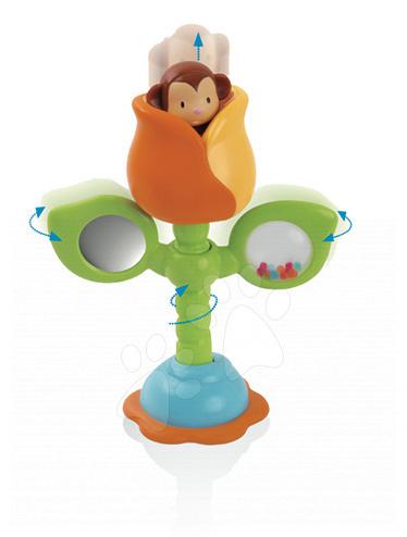 Hrkálka Pop Up Moki Cotoons Smoby v tulipáne pre kojencov farebná