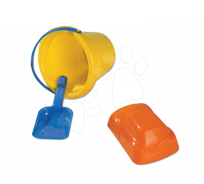Dohány 310 Vedierko set mini vlnkové 3 ks - set obsahuje - vedierko mini, lopatku a formičku