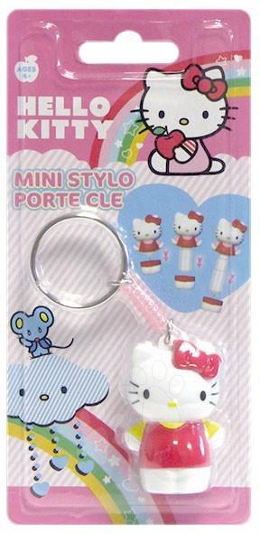Pero a kľúčenka v jednom Hello Kitty LPS CTC mini ružové