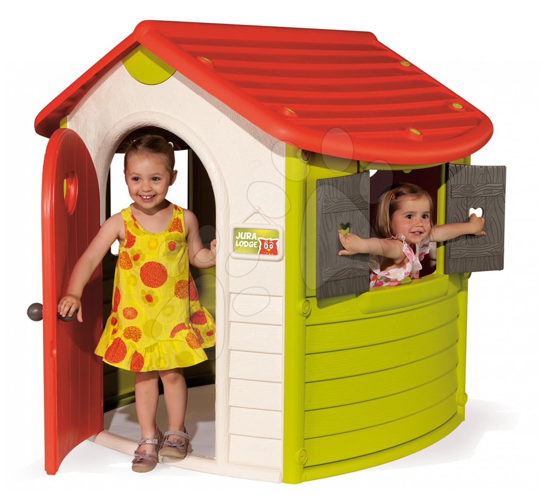 Domčeky pre deti - Domček Jura Lodge Smoby s UV filtrom od 24 mes