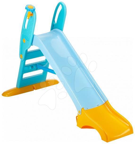 Skluzavky pro děti - Skluzavka Berchet Funnygliss Lagoon Smoby délka 1,5 m od 18 měsíců