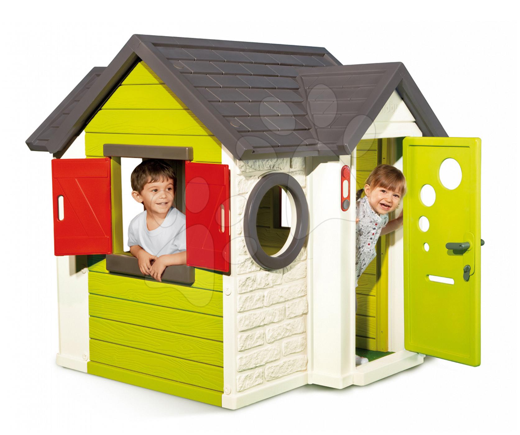Domček My House Smoby s elektronickým zvončekom a UV filtrom od 24 mes