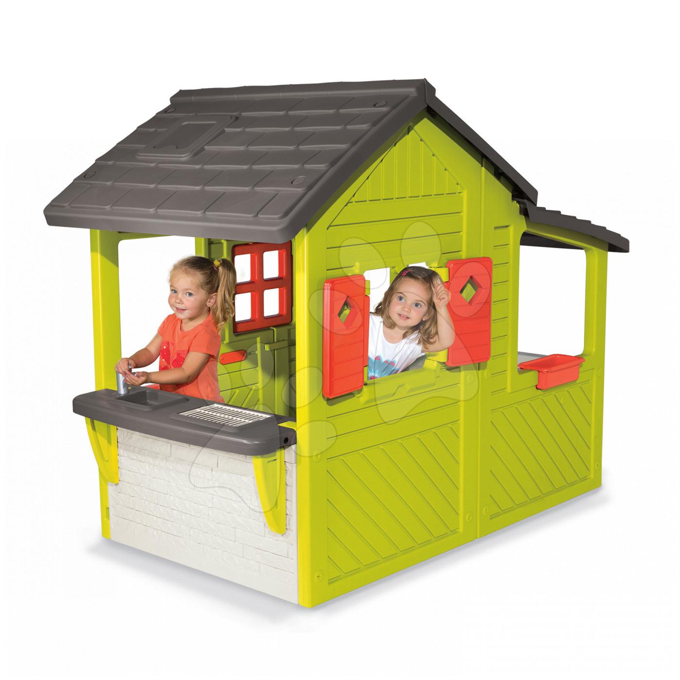 detsk dom ek so zvon ekom smoby maison. Black Bedroom Furniture Sets. Home Design Ideas