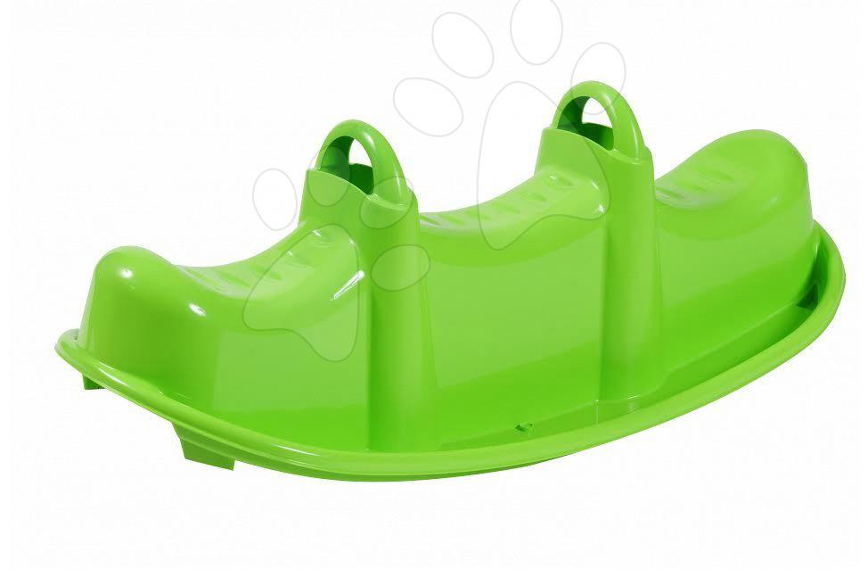 Hojdačky - Hojdačka Krokodíl Starplast obojstranná zelená