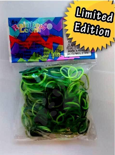 Rainbow Loom originální gumičky jarní mix 300 kusů od 6 let