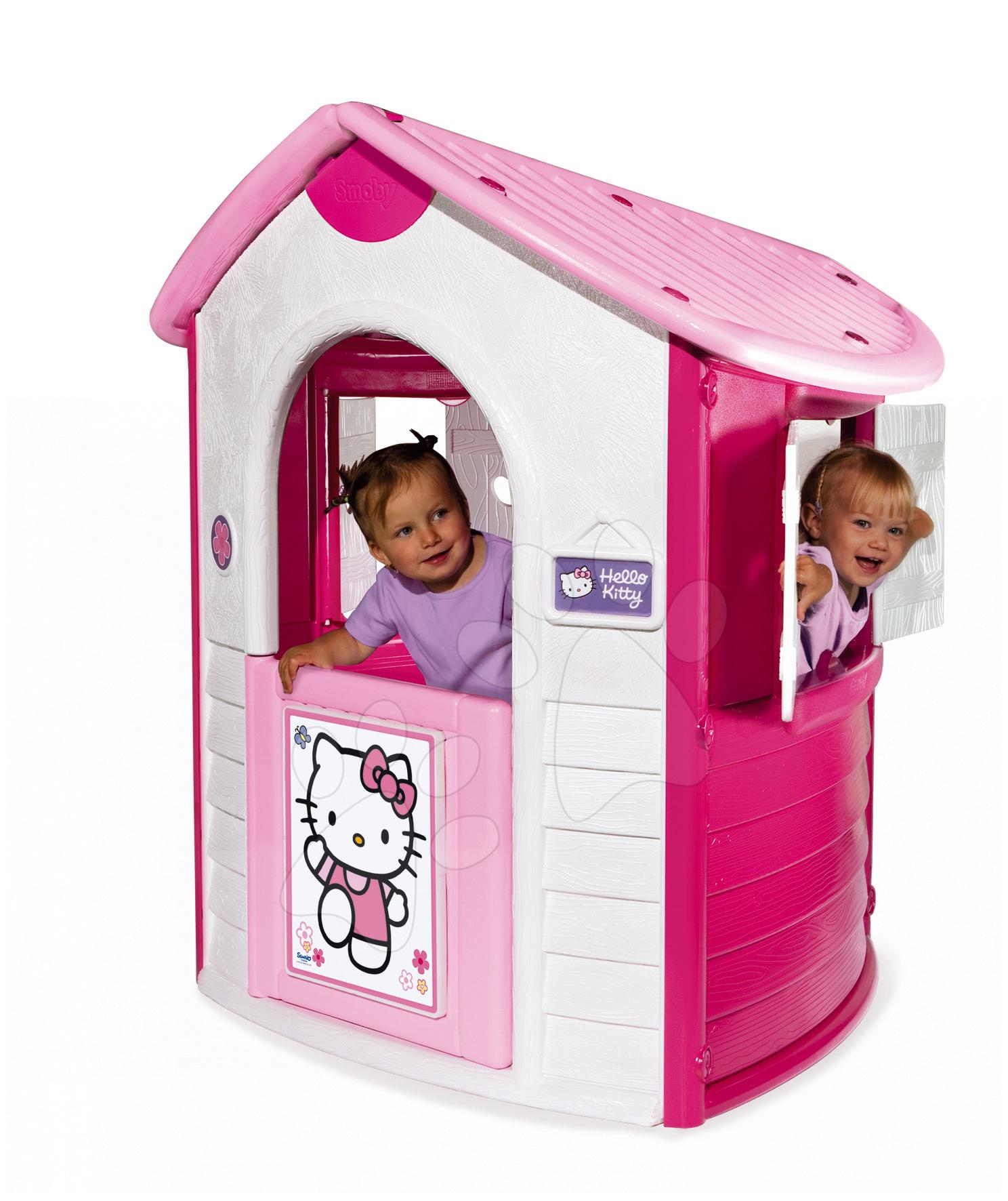 Staré položky - COTTAGE Hello Kitty domeček Smoby s UV FILTREM od 24 měsíců