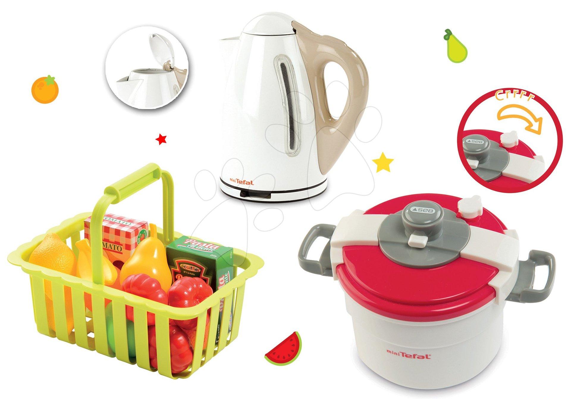 Smoby kuchynské spotrebiče pre deti Mini Tefal a ovocie 310501-3