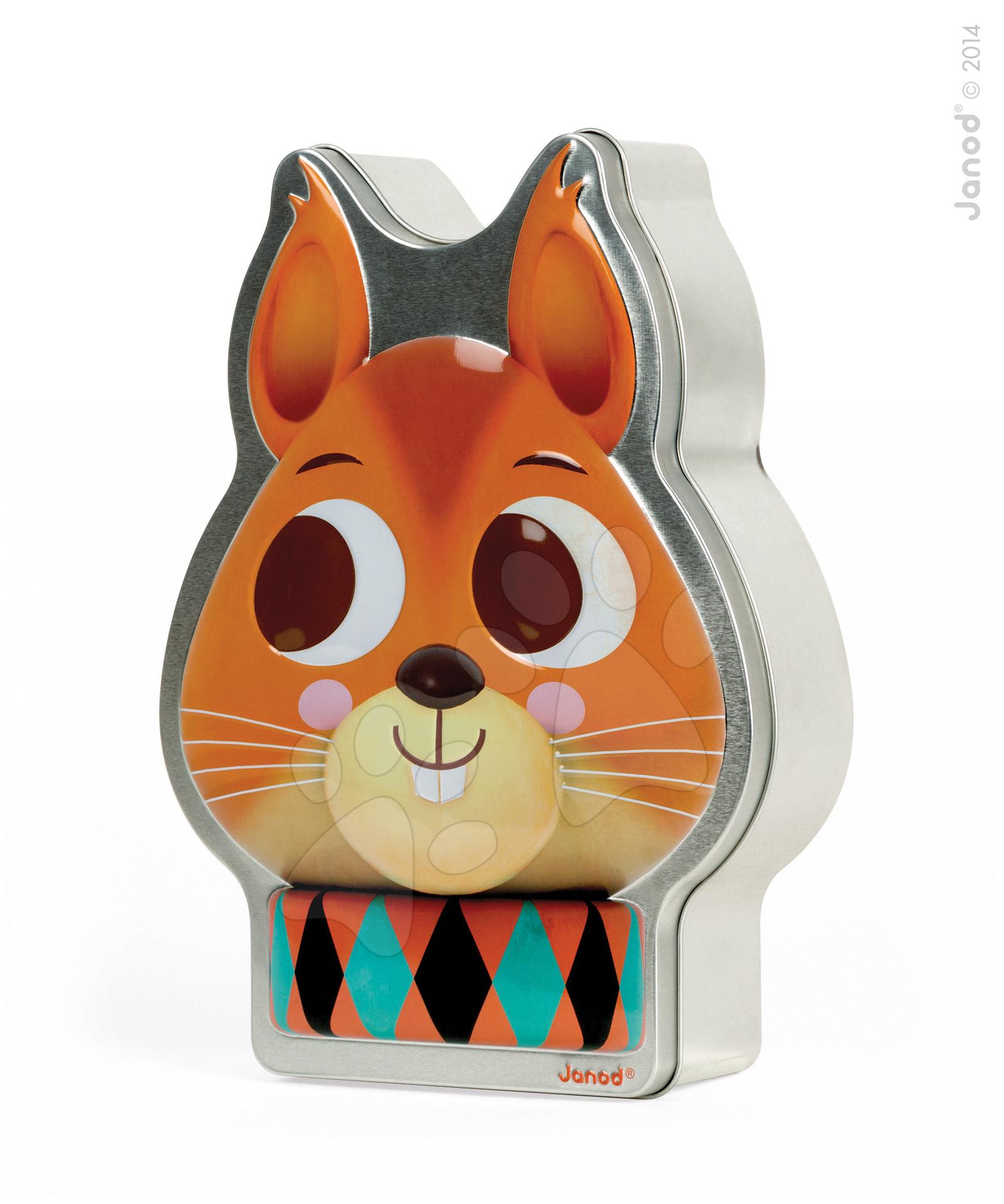 Společenská hra Zoonimooz Squirrel Janod v angličtině od 6 let