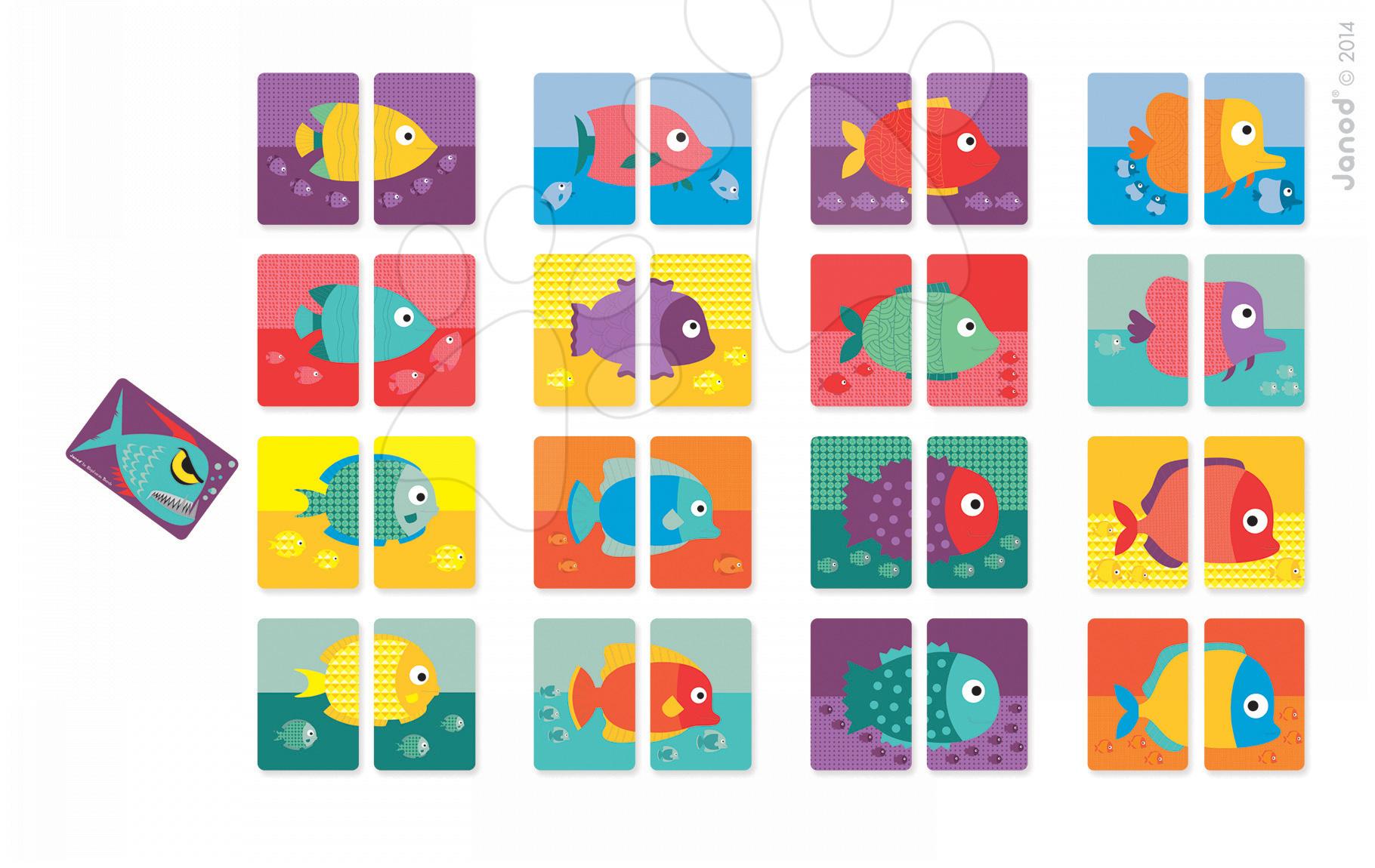 Společenská hra pro nejmenší Hot Piranha Janod od 4-8 let