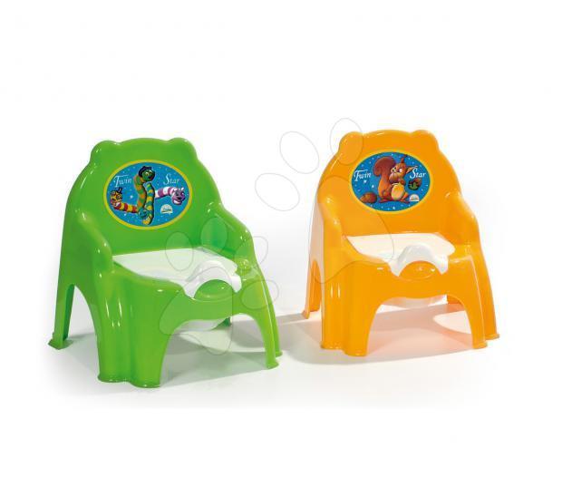 Nočníky a redukce na toaletu - Nočník židle Dohány světle modrý od 24 měsíců