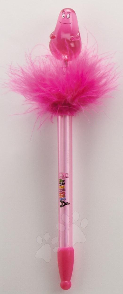 Svítící pero Barbapapa Stylo Lumineux CTC Paris růžové