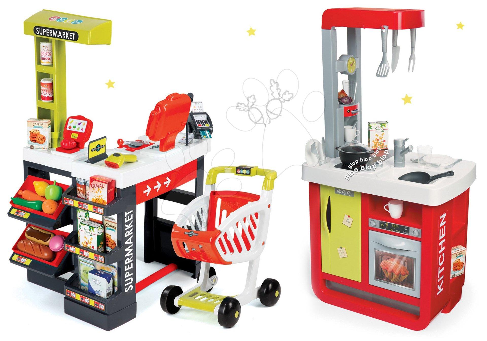 Smoby set kuchyňka Cherry Special a obchod Supermarket 310810-13