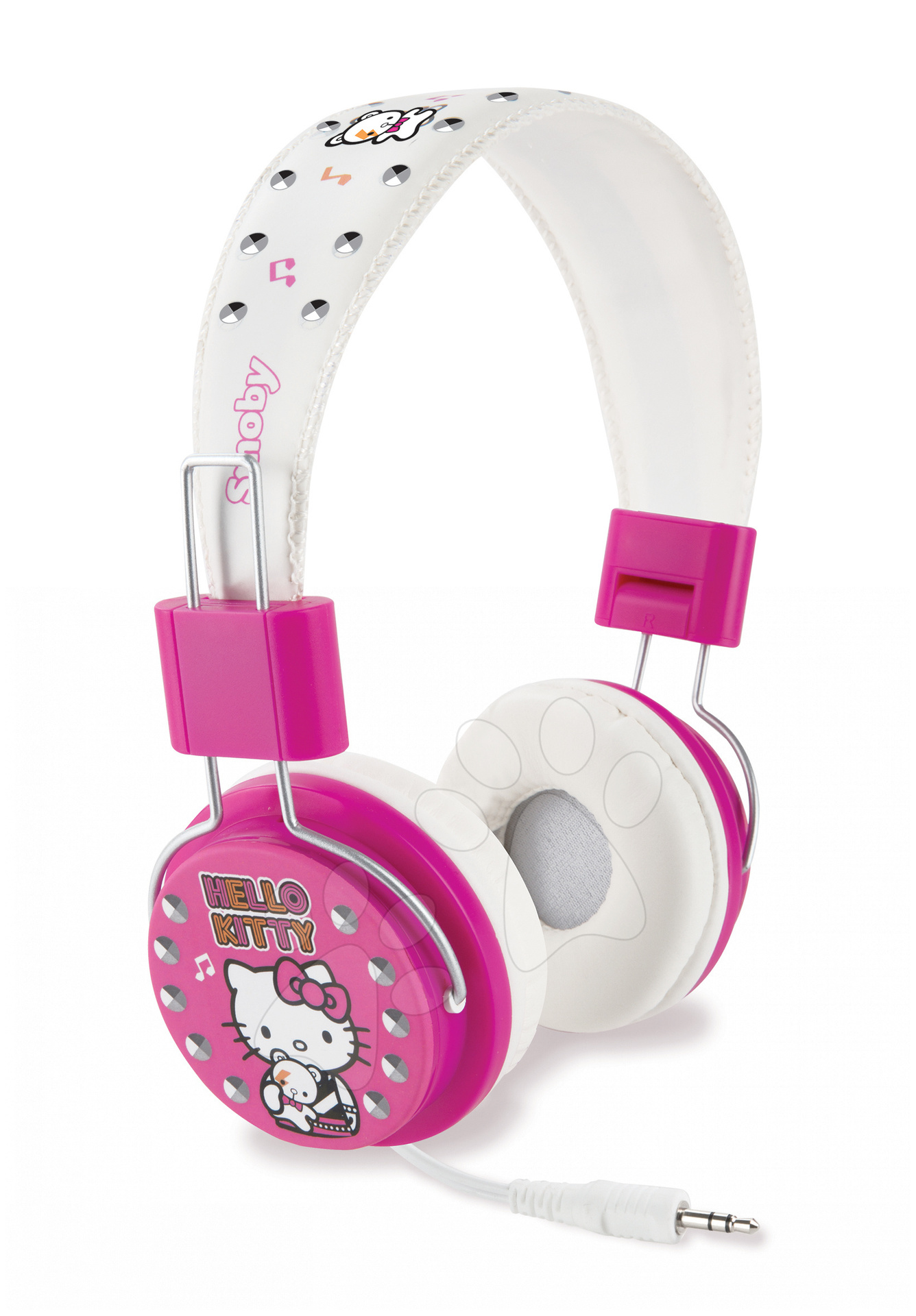 Sluchátka Hello Kitty Casque Musique Smoby