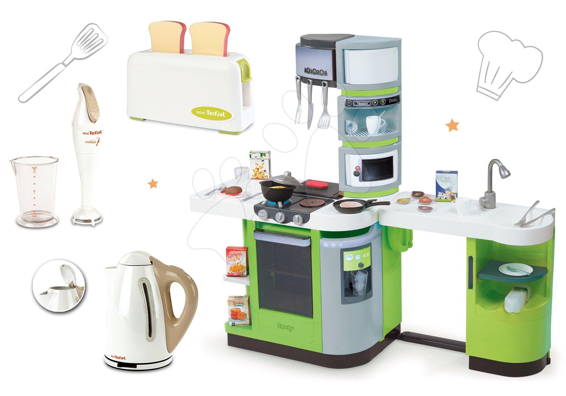 Smoby kuchynka CookMaster Verte a kuchynské spotrebiče 311102-4