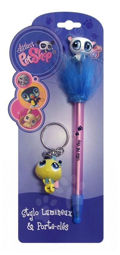 Sada pero a kľúčenka LPS CTC mini svietiace