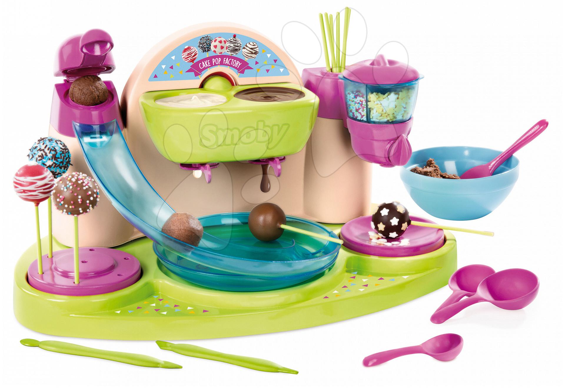 Smoby detská cukráreň pre výrobu čokoládových lízaniek Chef 312103 ružovo-zelená