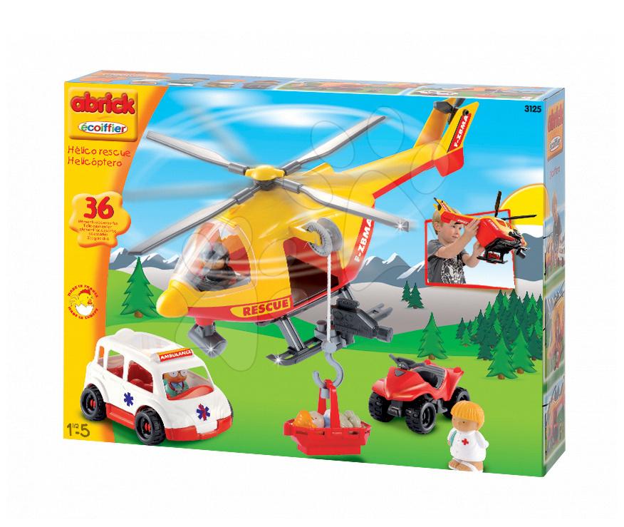 Abrick Helikoptéra s auty Écoiffier od 18 měsíců