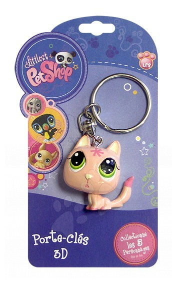 Klíčenka kočka LPS Hasbro