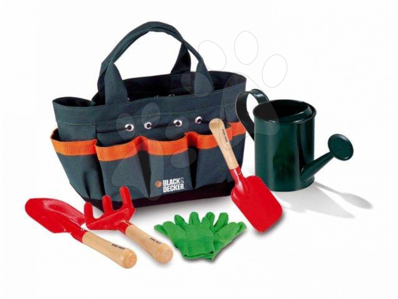 Záhradnícke náradie set Black and Decker Smoby