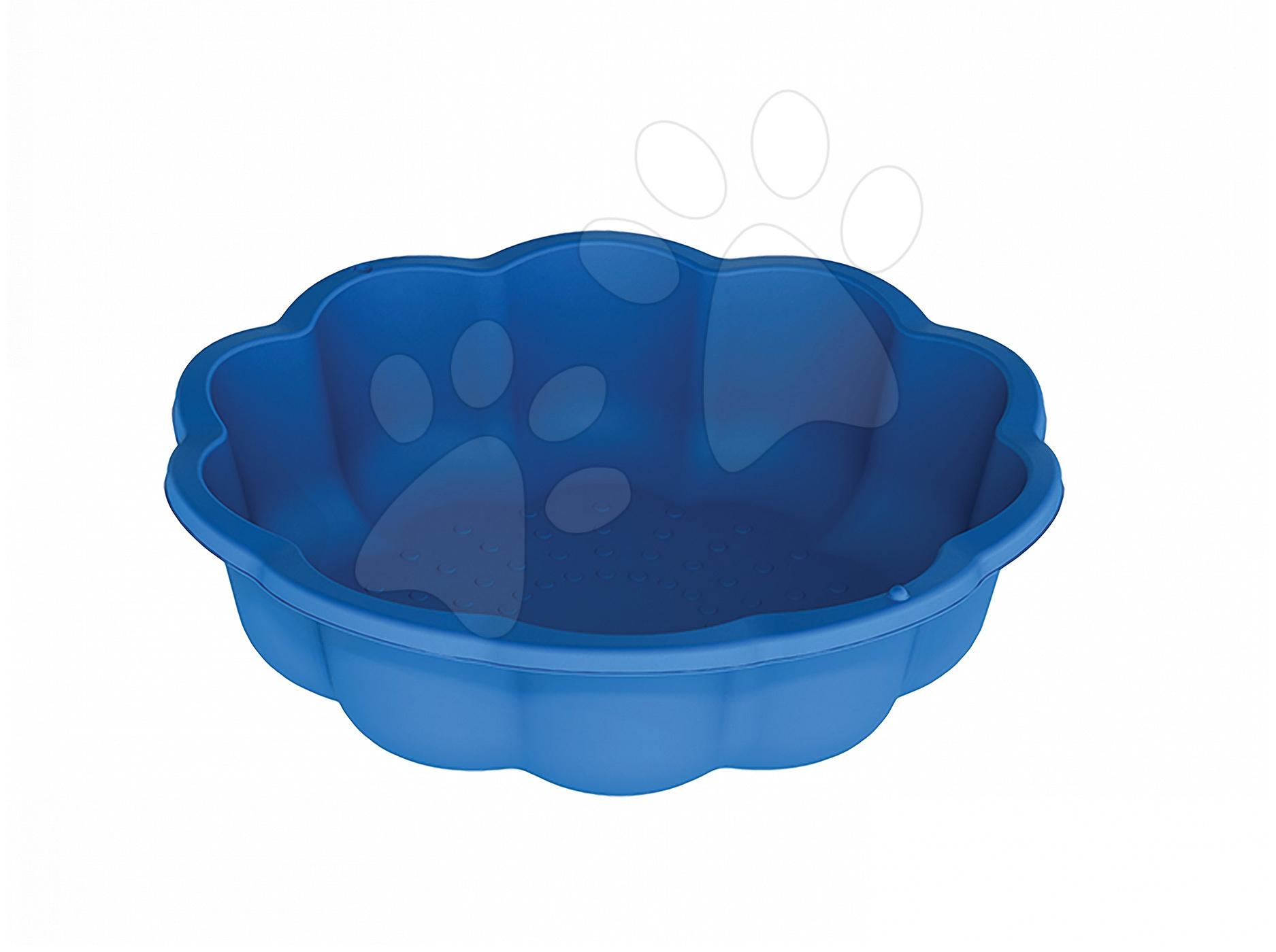 Pískoviště Květinka Starplast modré 57 litrů od 24 měsíců