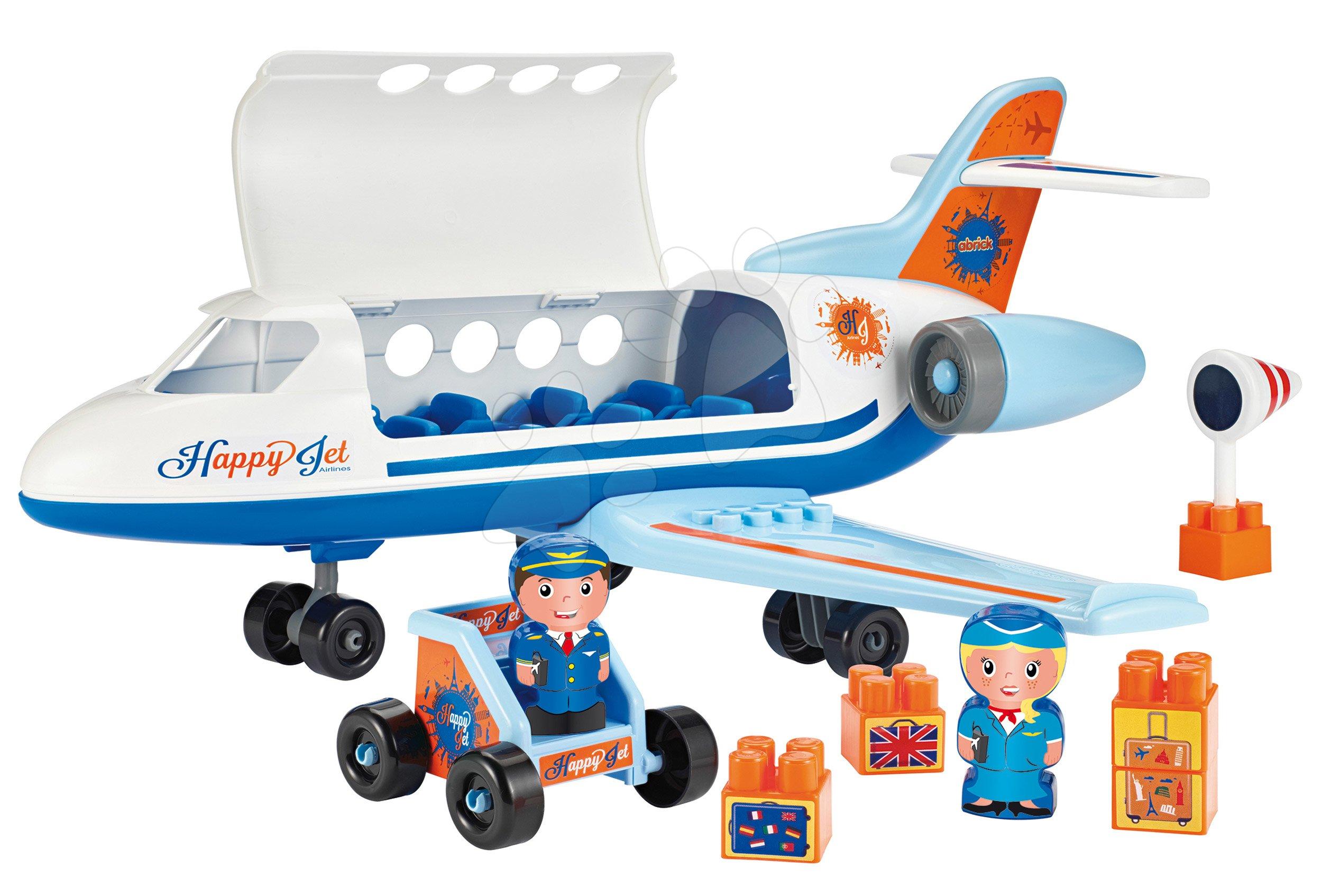 Stavebnica Abrick dopravné lietadlo Écoiffier od 18 mes