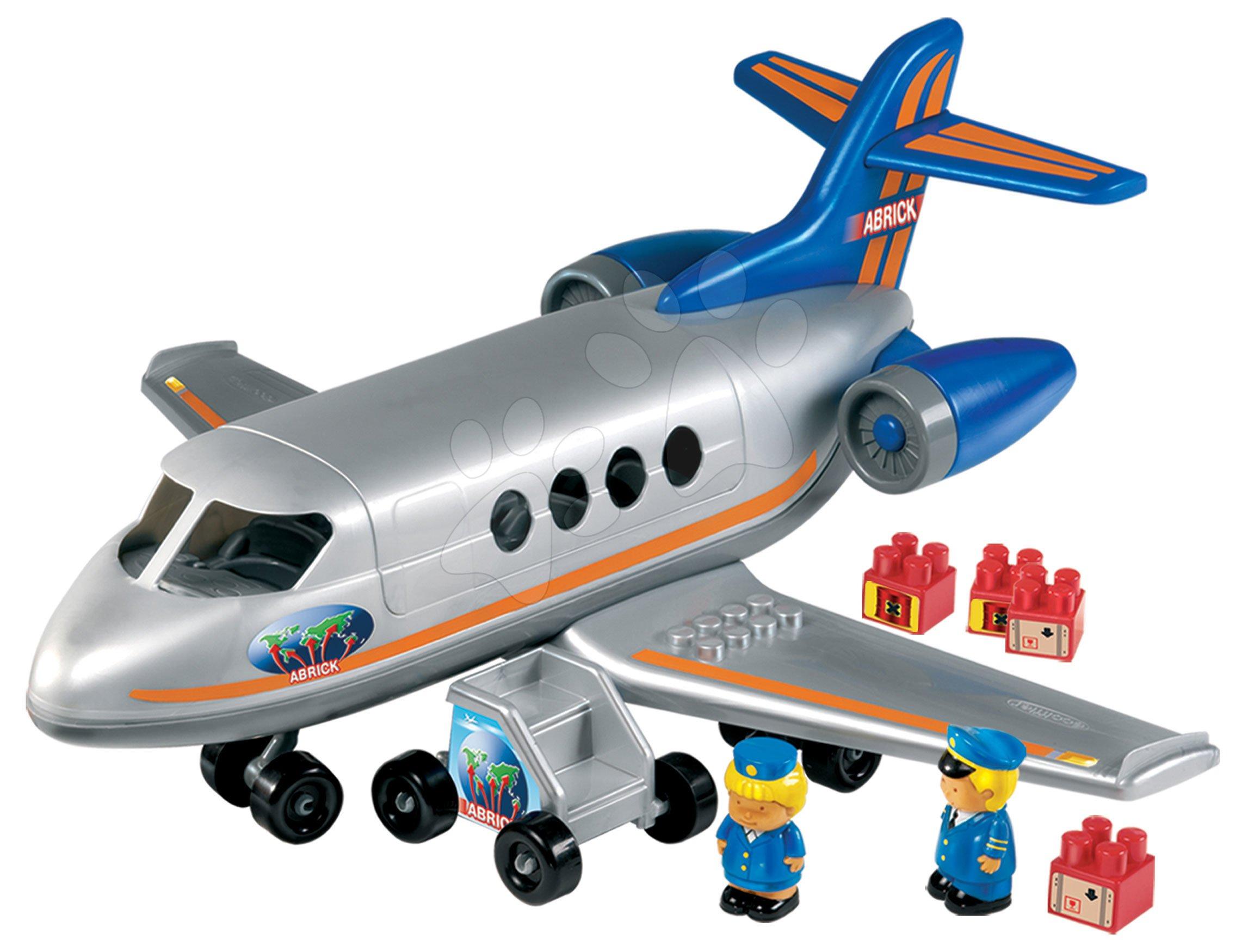 Joc de construit Abrick avion de transport de la 18 luni