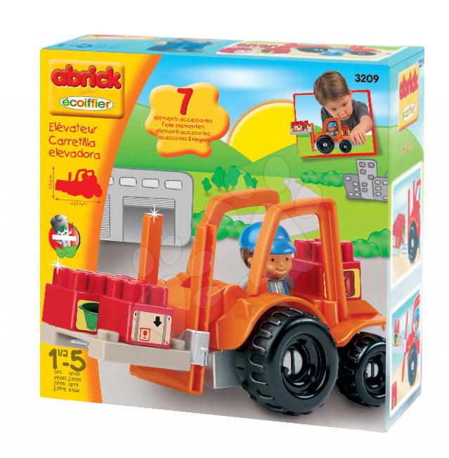 Régi termékek - Emelőtargonca Abrick Écoiffier 7 darabos + ajándék 18 hó-tól