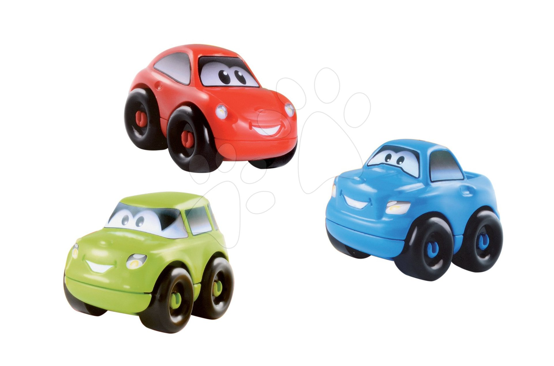 Sada 3 ch skladacích autíčok Écoiffier dĺžka 10 cm od 18 mes