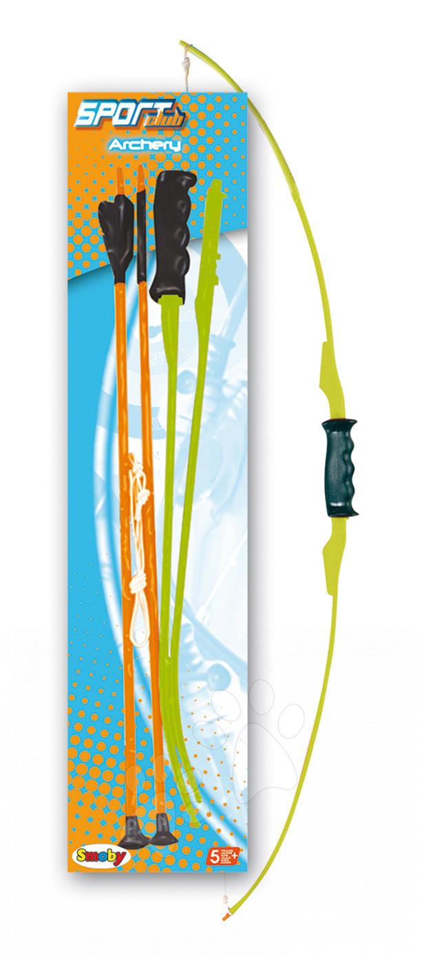 Luky a kuše - Luk Smoby so šípmi dĺžka 105 cm od 5 rokov