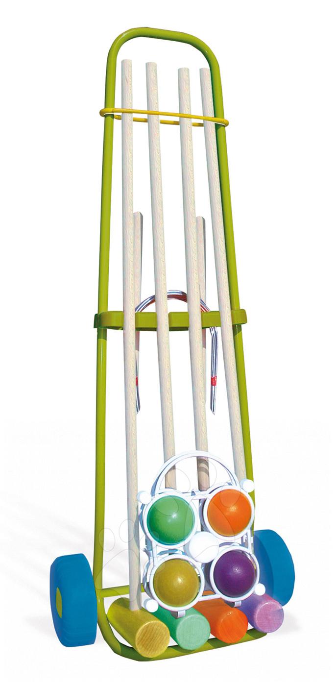 Cricket Smoby pentru 4 jucători de la 5 ani