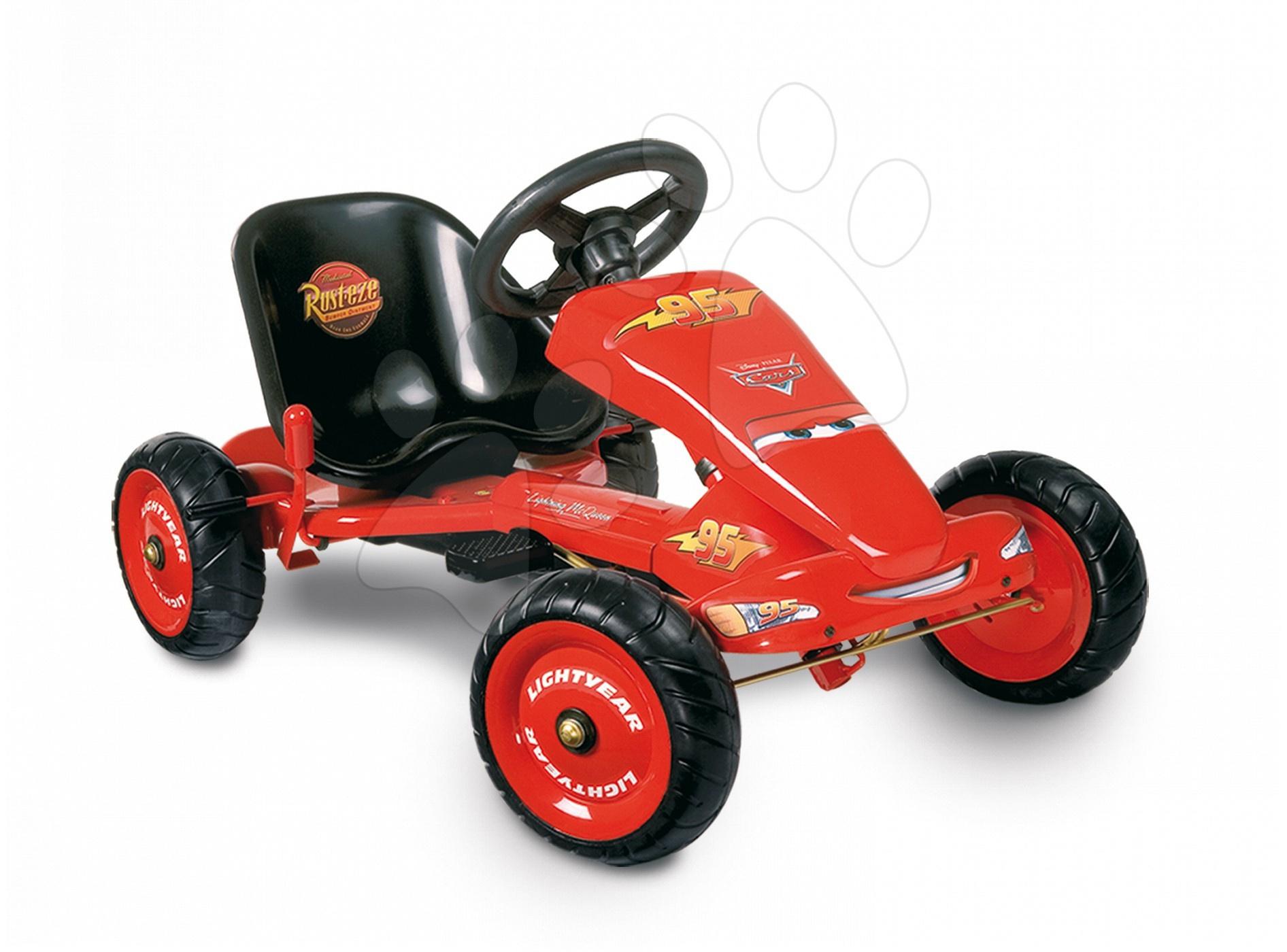 Smoby 33027 Vozidlo GO Kart licenčné CARS I. na reťaz 100 *55*51 cm