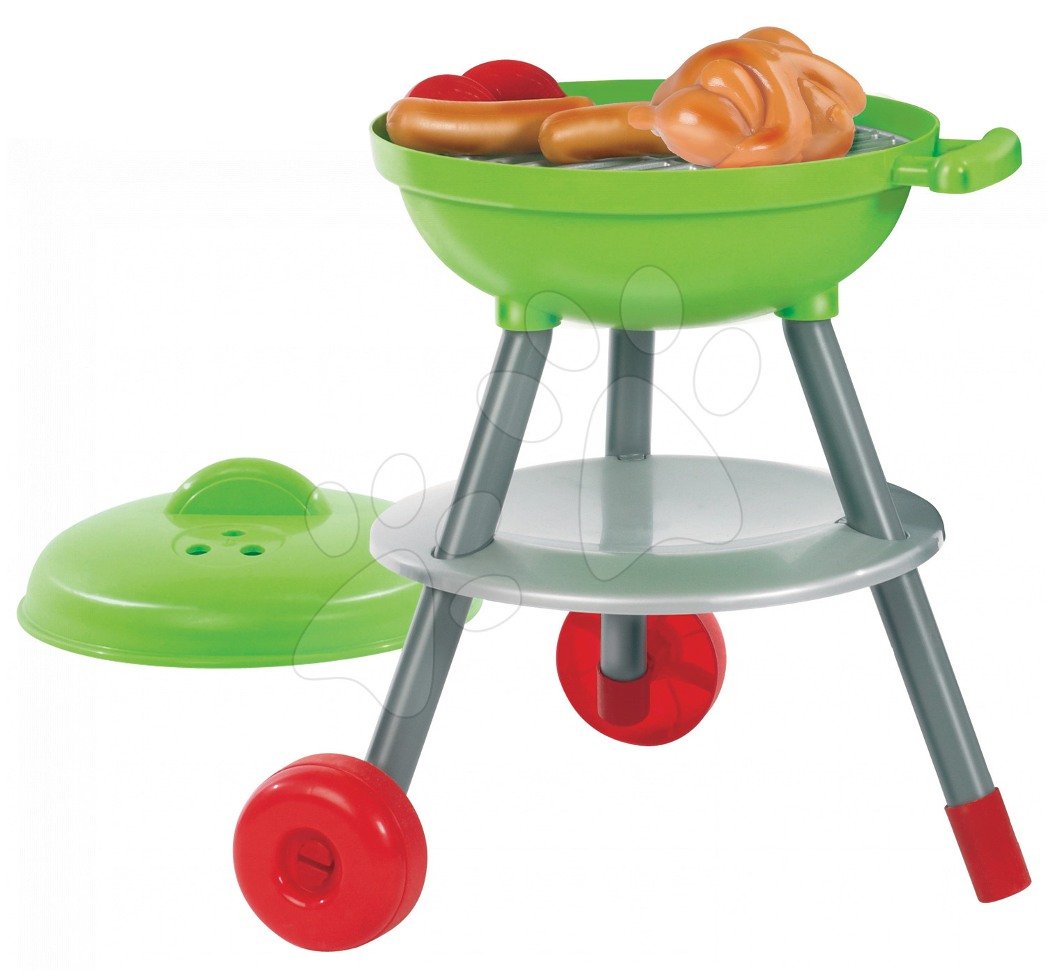Hry na zahradníka - Grilovací stolek Picnic Écoiffier 16 doplňků od 18 měsíců