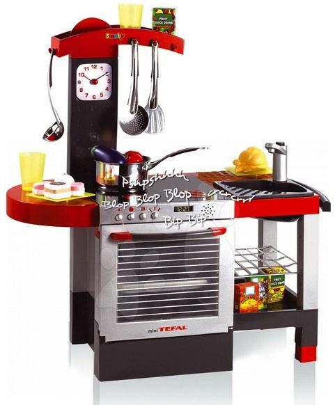 Mini TEFAL Cheftronic elektronická kuchynka Smoby