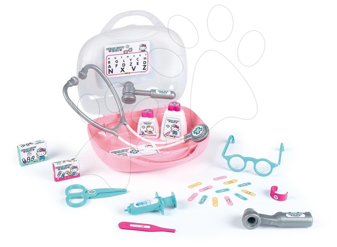 Zdravniški kovček Hello Kitty Smoby s 25 dodatki