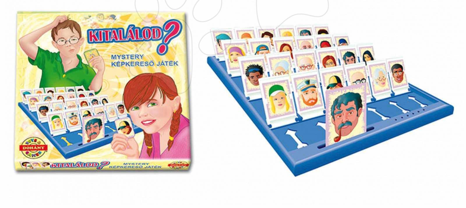 Dětská společenská hra Hádej kdo jsem? Dohány