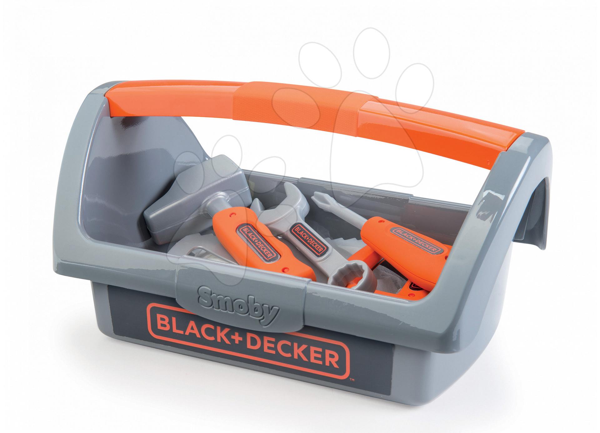 138835b8f Smoby detské náradie v kufríku Black+Decker 360101 – Smoby Hračky