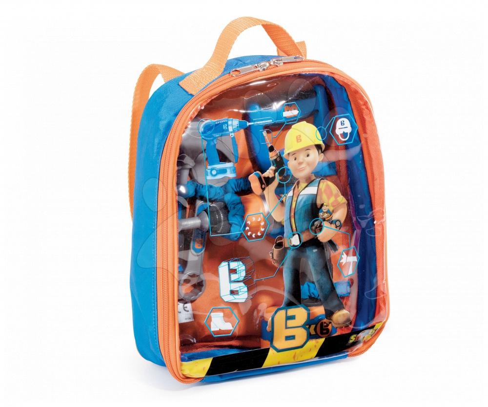 Smoby pracovné náradie v batohu Bob the Builder 360136