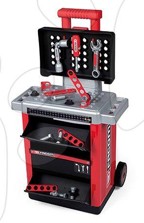 Atelier de lucru Facom Workshop Cart Smoby pe roți cu 31 accesorii