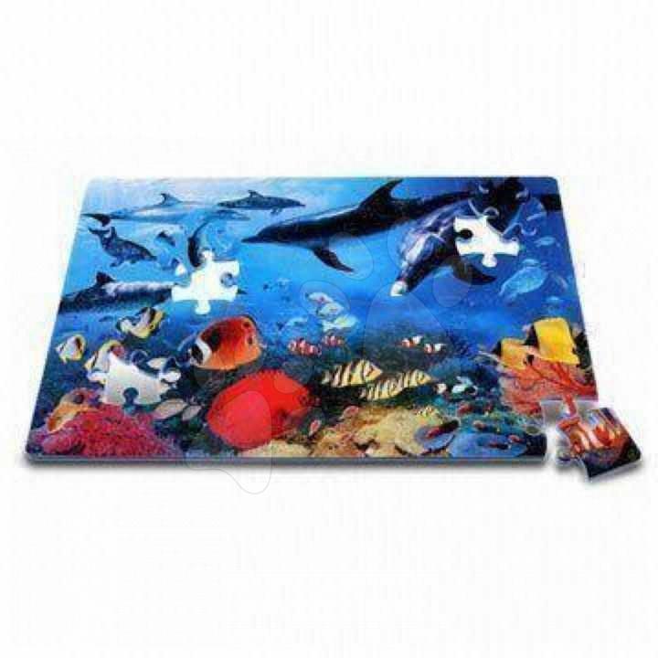 Pěnové puzzle - Pěnové puzzle Dolphin – Delfín Lee 54 dílů 60*90*1,2 cm